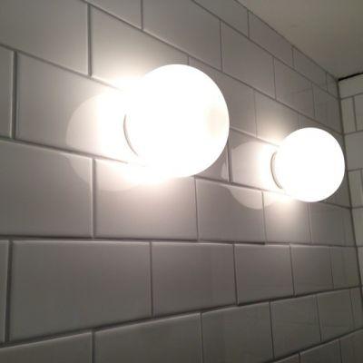 GLO-BALL C/W ZERO parete-soffitto
